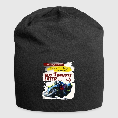 But one minute later - Jersey Beanie