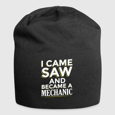 I CAME SAW AND BECAME A MECHANIC - Jersey Beanie