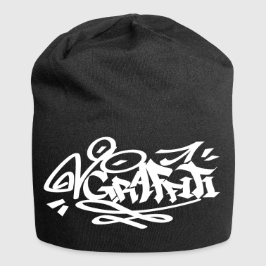 Graffiti WHITE - Bonnet en jersey