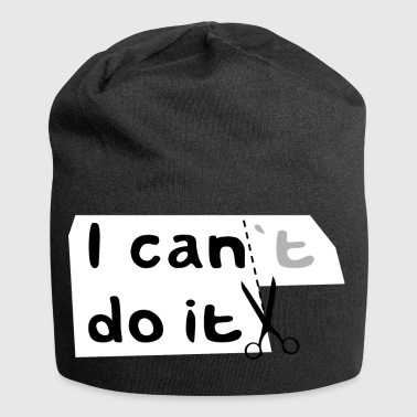 I can do it motivation - Jersey Beanie