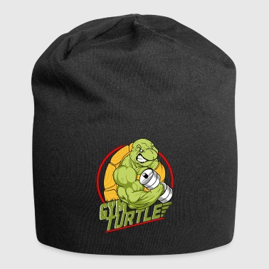 Gym Turtle Gym Design - Jersey-Beanie
