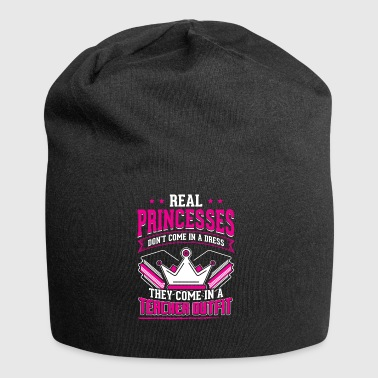 REAL PRINCESSES teacher - Jersey Beanie