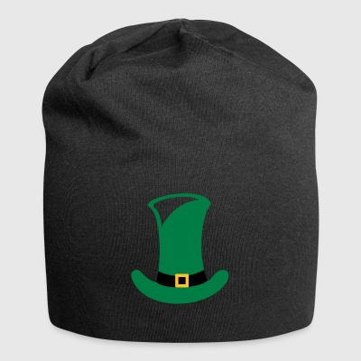 Green top hat for St. Patrick's Day gift - Jersey Beanie