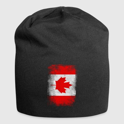 Canada Flag Proud canadiske Vintage Distressed - Jersey-Beanie