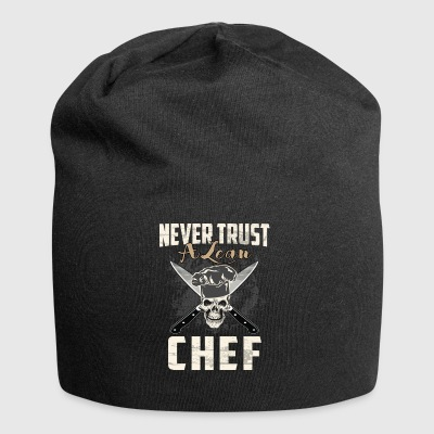Never trust a lean chef - Jersey Beanie