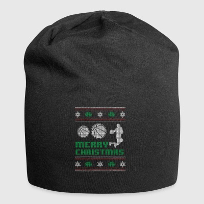 Funny Basketball BBall Shirt Merry Christmas - Jersey Beanie
