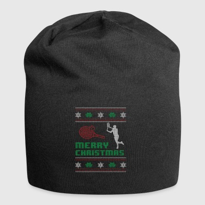 Funny Tennis Player Shirt Merry Christmas - Jersey-Beanie