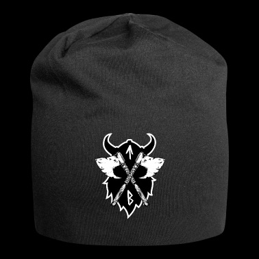 viking rune borderline Tiwaz - Beanie in jersey
