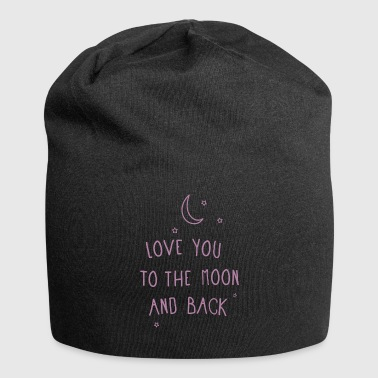 LoveKidsPrint - To the moon and back - Jersey Beanie