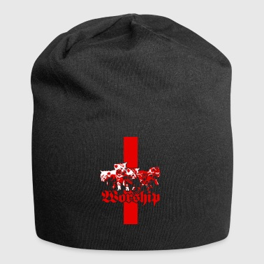 Worship Satans Kitties - Jersey-Beanie