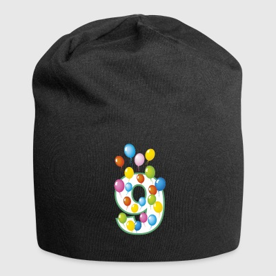 ninth birthday 9 years - Jersey Beanie