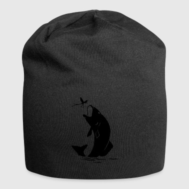fish281 - Beanie in jersey