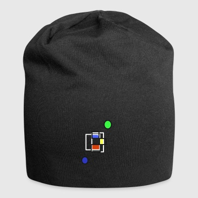 Shapes and colors - Jersey Beanie
