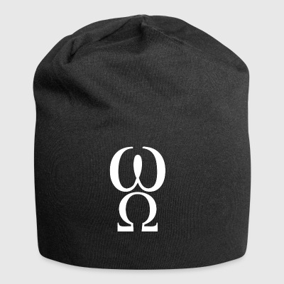 wite omega - Beanie in jersey