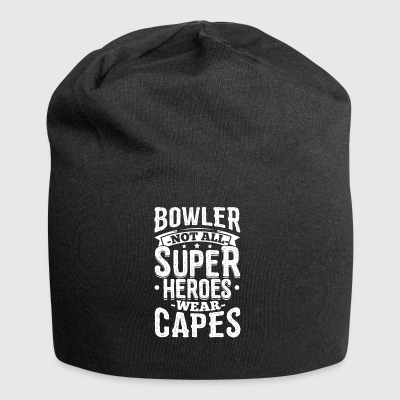 Funny Bowling Bowler Shirt Niet All Superheroes - Jersey-Beanie
