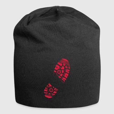 shoeprint - Jersey Beanie