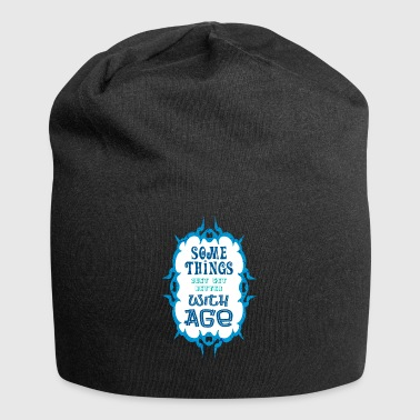 Some Thinks with Age - Jersey Beanie
