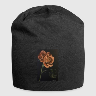 rote Rose - Jersey-Beanie