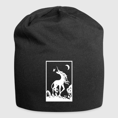 Unicorn | Unicorn in the magic forest - Jersey Beanie
