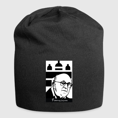 Pope_Francisco - Beanie in jersey