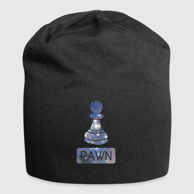 Pawn Chess Piece Starry Night Galaxy Gift - Jersey Beanie