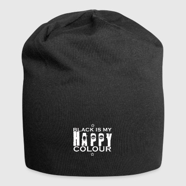 Black is my happy color - Jersey Beanie