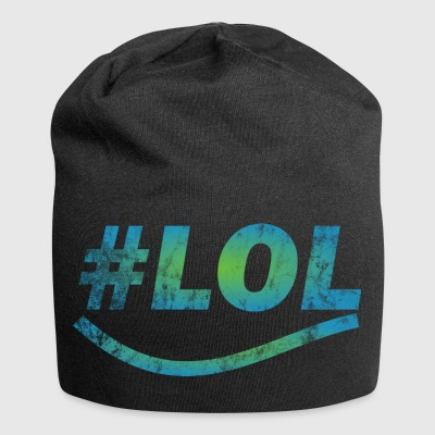 LOL - Laugh out lout - laugh - Jersey Beanie