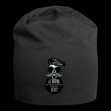 tete mort hipster barbu citation sentiments art ba - Jersey-Beanie