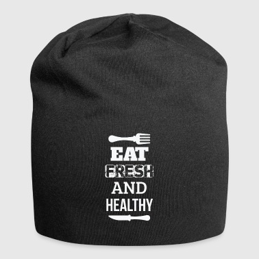 Eat fresh and healthy - eat fresh and healthy - Jersey Beanie