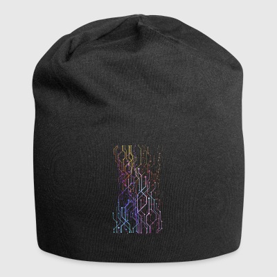 Geometric graphics - Jersey Beanie