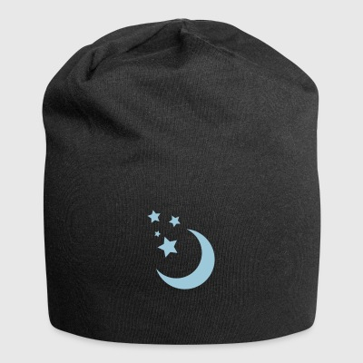 Stars and Moon - Jersey Beanie