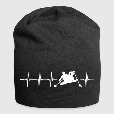 I love kayaking (kayak heartbeat) - Jersey Beanie