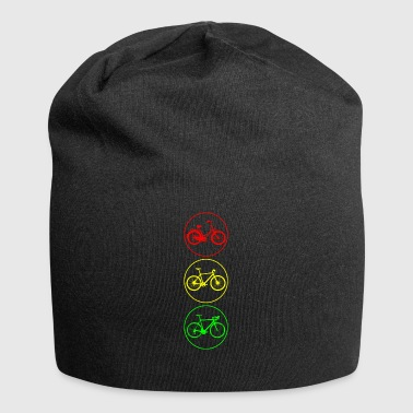 Bicycle traffic lights - Jersey Beanie
