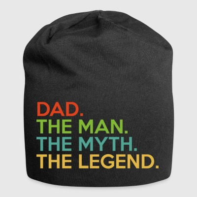 Papà. L'uomo. Il mito. The Legend.Super Dad.Daddy - Beanie in jersey