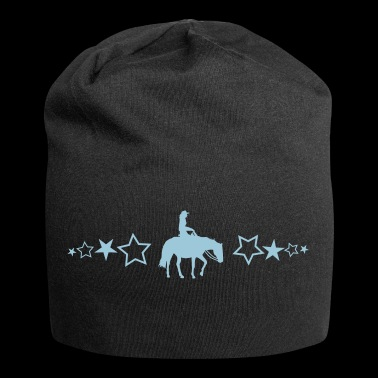 Pleasure Horse with stars - Jersey Beanie