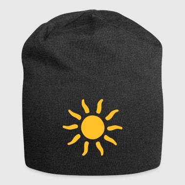 sommer sol former tegn - Jersey-beanie