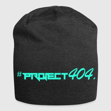 project404 final teal - Jersey Beanie