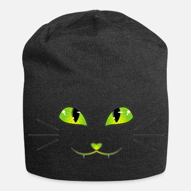 Cat cat eyes - Jersey Beanie