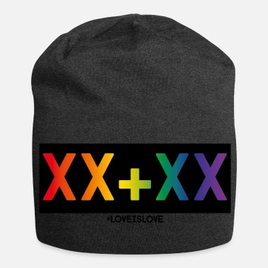 Love is Love - chromosomes féminins - Bonnet en jersey