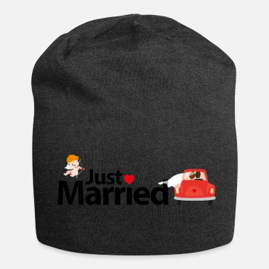 Just Just Married - Beanie in jersey