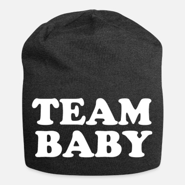 Baby Sayings TEAM BABY! Saying shirt - Jersey Beanie 9bcc1764f1c