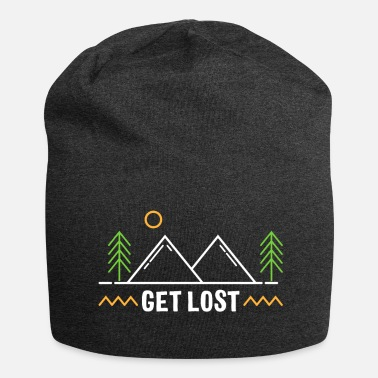 Get Lost - Natur, Camping, Outdoor, Wandern - Jersey-Beanie