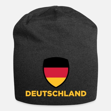 Germany National Flag Of Germany - Jersey Beanie