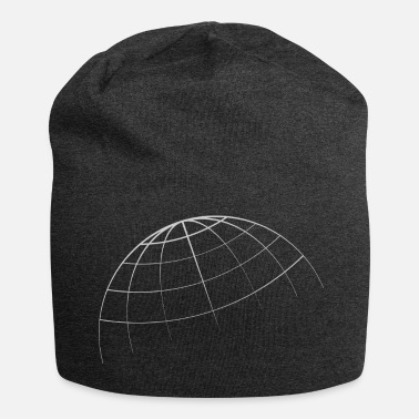 Global Monde global - Bonnet en jersey