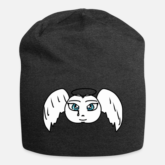 Gift Idea Caps & Hats - Angel - Beanie charcoal grey