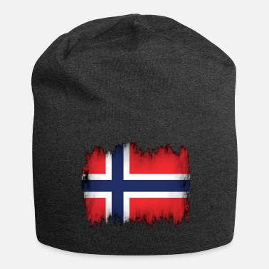 Norvegese Bandiera norvegese - Beanie in jersey