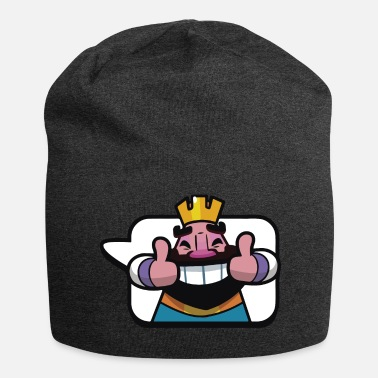 Clash Of Clans Emoticon König Royale Clash - Jersey-Beanie