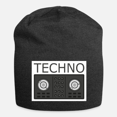 Turntable Techno Turntable - Beanie in jersey
