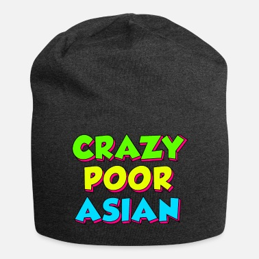 CRAZY POOR ASIAN - Jersey Beanie