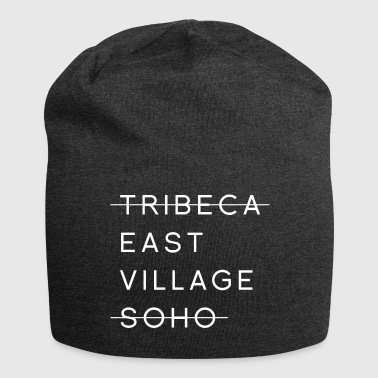 Tribeca East Village Soho quote - Jersey Beanie
